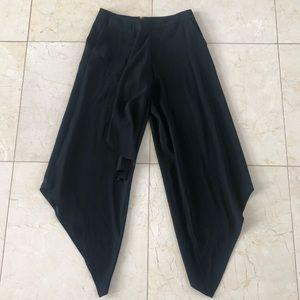 HauteHippie NWT Drapey Pant with Ruffles Sz 2 $365